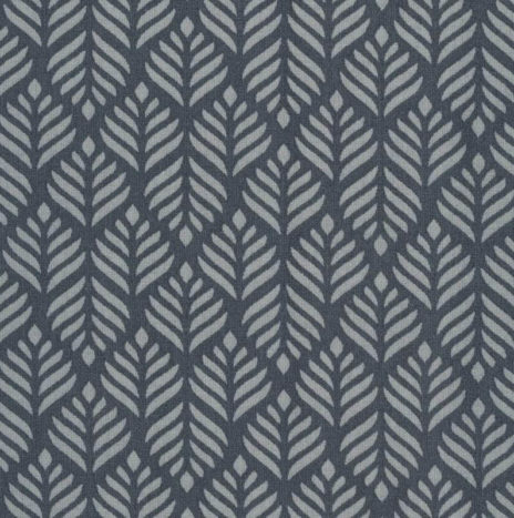 Oilcloth Trigo Dusty Blue/ Midnight Blue