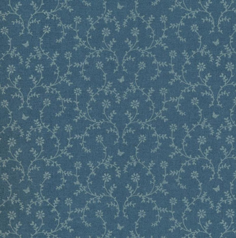 Oilcloth Claire Dusty Petrol
